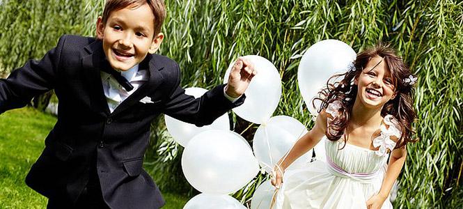 ¿Niños en la boda?