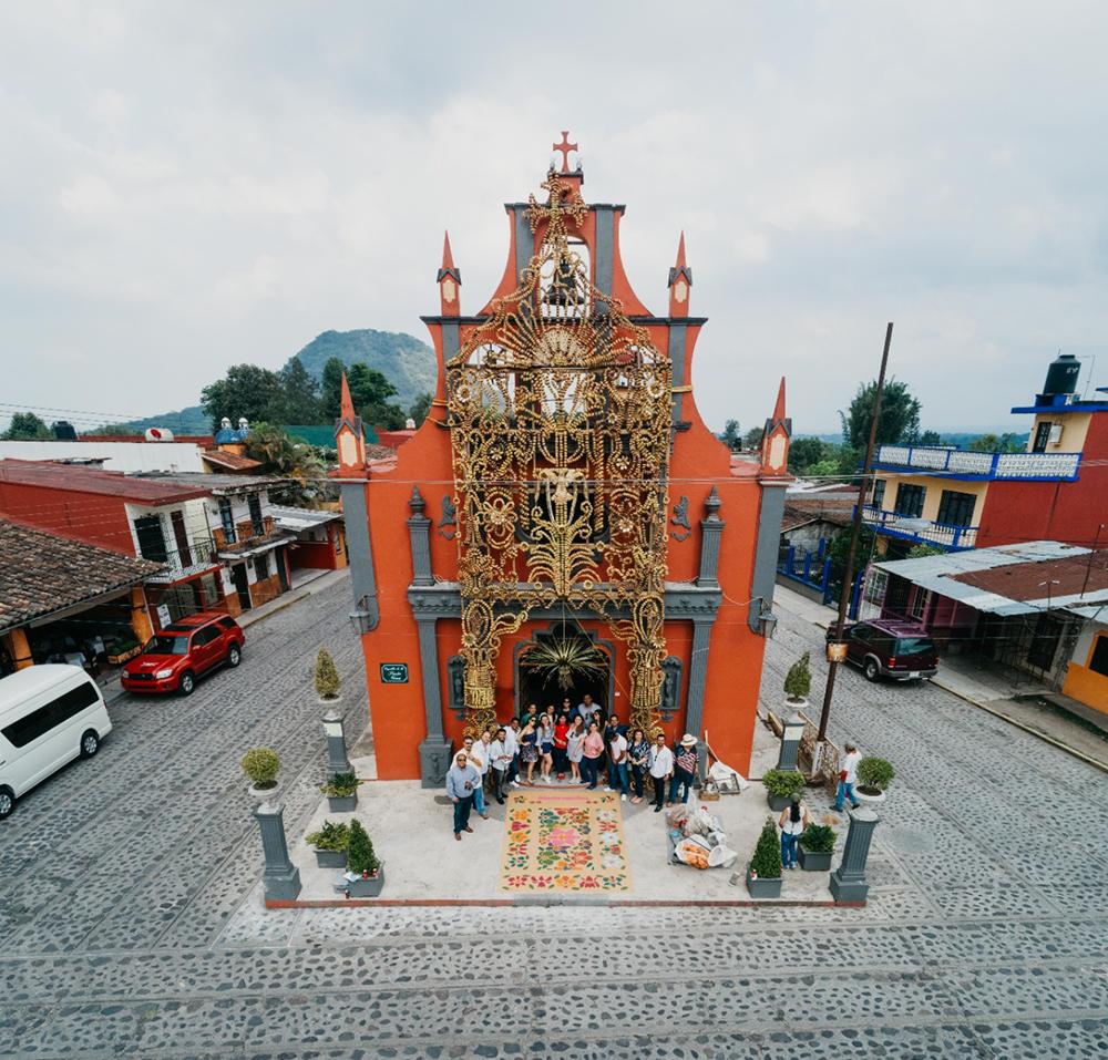 Parroquia de Xico, Pueblo Mágico, Wedding Planner Amelia H. Ávila